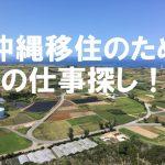 沖縄 移住 仕事